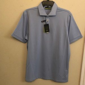 Men's light blue polo. NWT
